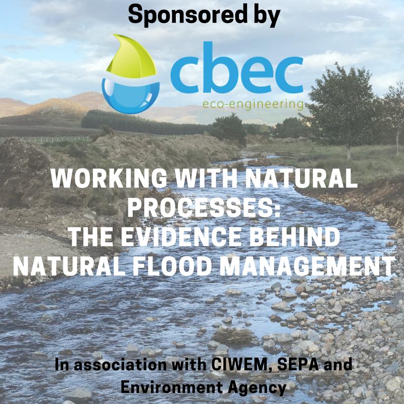 CIWEM NFM conference sponsor